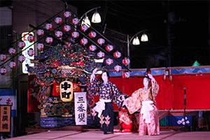 宵祭・笠揃(祭り前日)