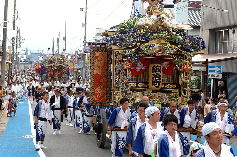 山あげ屋台パレード(平成25年)