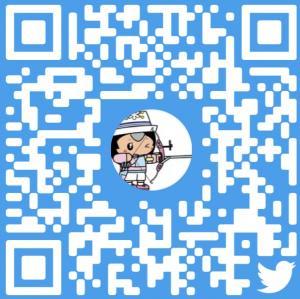 Twitter(国体)QRコード